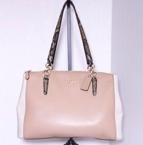 Coach NWOT Leather Handbag Satchel